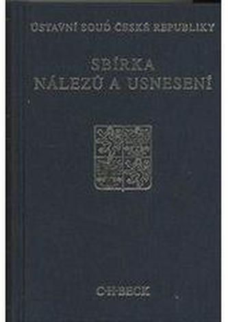 Sbírka nálezů a usnesení ÚS ČR, svazek 53