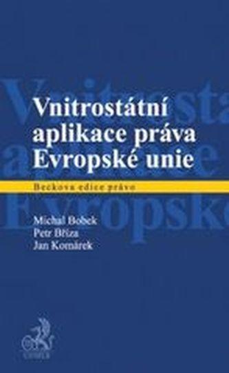 Vnitrostátní aplikace práva Evropské unie