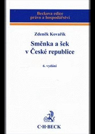 Směnka a šek v České republice