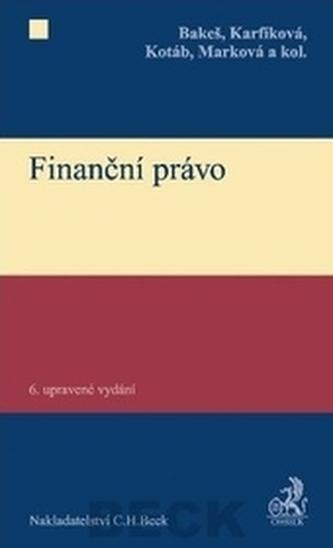 Finanční právo - karfíková