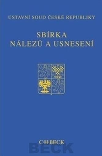 Sbírka nálezů a usnesení ÚS ČR, sv. 62 (vč. CD)