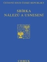 Sbírka nálezů a usnesení ÚS ČR, svazek 63 (bez CD)