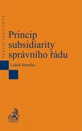 Princip subsidiarity správního řádu