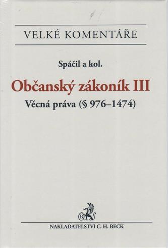 Občanský zákoník III.