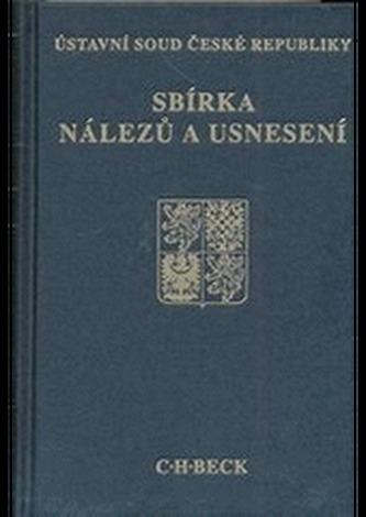 Sbírka nálezů a usnesení ÚS ČR, sv. 65 (bez CD)