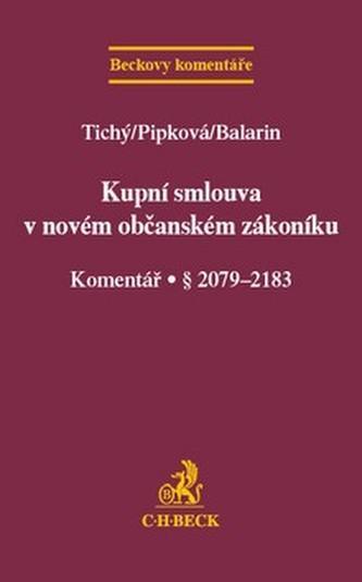 Kupní smlouva v novém občanském zákoníku