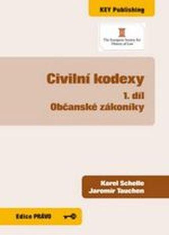 Civilní kodexy 1 díl - občanské zákoníky
