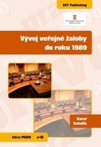 Vývoj veřejné žaloby do roku 1989