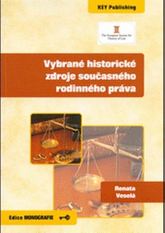 Vybrané historické zdroje současného rodinného práva