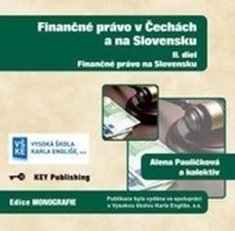 Finančné právo v Čechách a na Slovensku - II. diel - CD