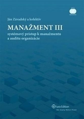 Manažment III