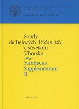 Sambucus Supplementum II. Sondy do Belových Vedomostí o súvekom Uhorsku