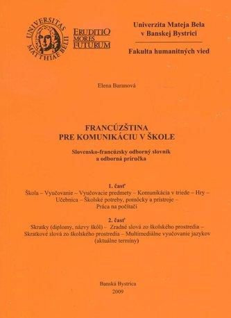 Francúzština pre komunikáciu v škole