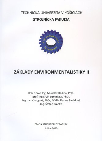 Základy environmentalistiky II