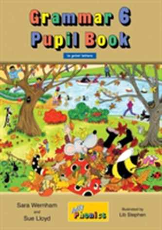 Grammar 6 Pupil Book - Wernham, Sara