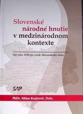 Slovenské národné hnutie v medzinárodnom kontexte
