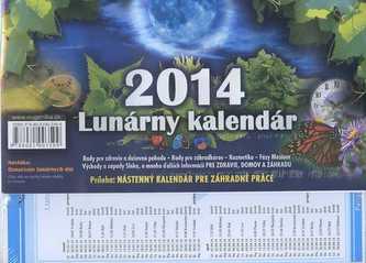Lunárny kalendár 2014