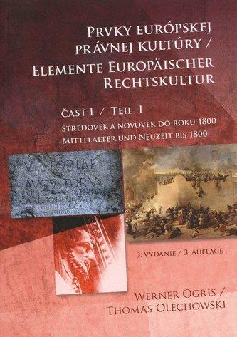 Prvky európskej právnej kultúry 1. časť