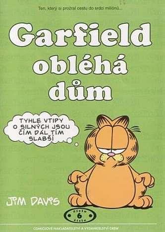 Garfield obléha dům