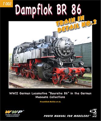 Dampflok BR 86 Train In Detail NO.2