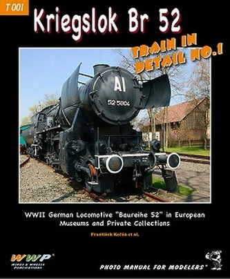 Kriegslok BR 52 Train In Detail No.1