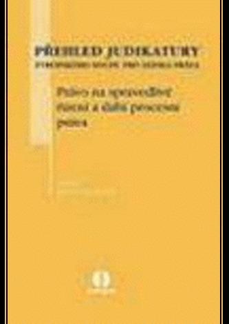 Přehled judiaktury Ev.soudu pro lid.práva - právo