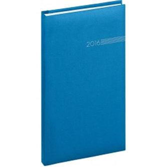 Diář 2016 - Capys - Kapesní, světle modrá,  9 x 15,5 cm
