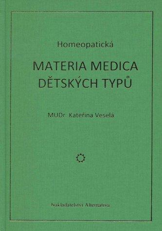 Homeopatická materia medica dětských typů