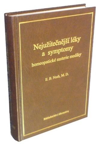 Nejužitečnejší léky a symptomy homeopatické materie mediky