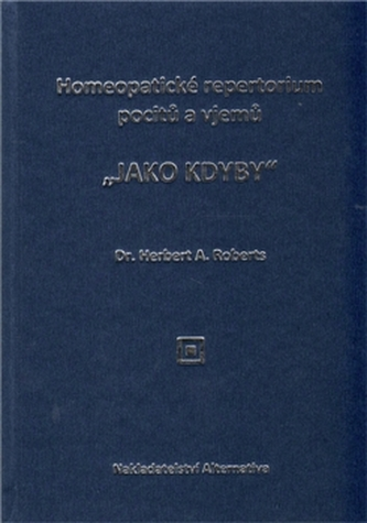 Homeopatické repertorium pocitů a vjemů