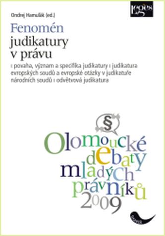 Fenomén judikatury v právu