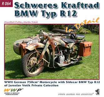 Schweres Kraftrad BMW Typ R12 In Detail