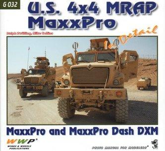 U.S. 4x4 MRAP MaxxPro In Detail