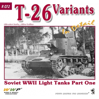 T-26 Variants In Detail