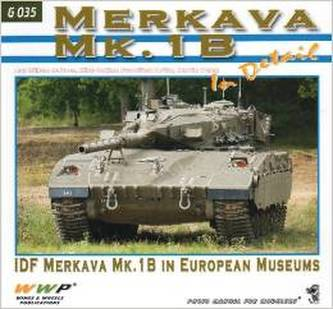 Merkava Mk.1B In Detail