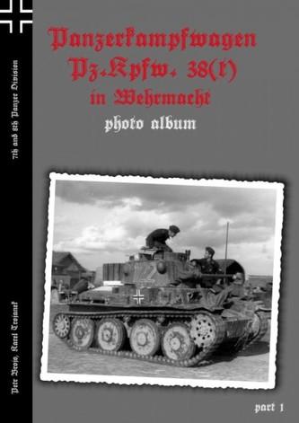 Panzerkampfwagen Pz.Kpfw. 38(t) in Wehrmacht 7th and 8th Panzer Division