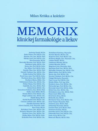 Memorix klinickej farmakológie a liekov