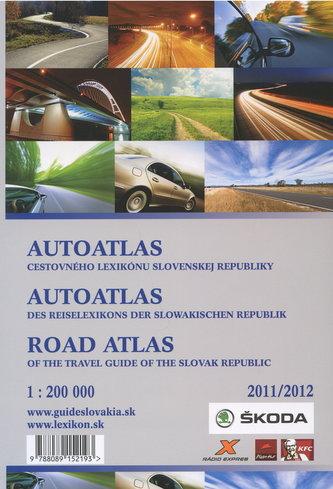 AutoAtlas cestovneho lexikonu Slovenskej Republiky 2011/2012