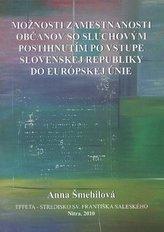 Možnosti zamestnanosti občanov so sluchovým postihnutím po vstupe Slovenskej Republiky do Európskej