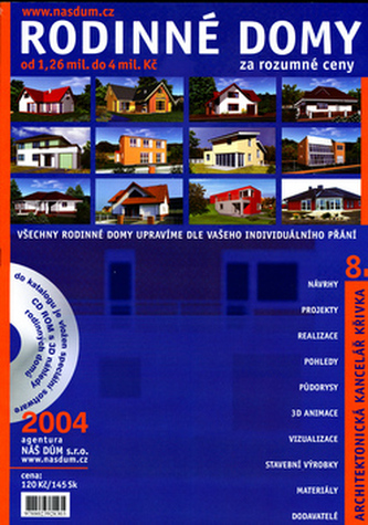 Rodinné domy za rozumné ceny + CD