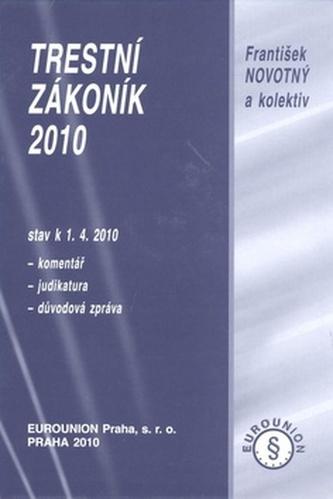 Trestní zákoník 2010
