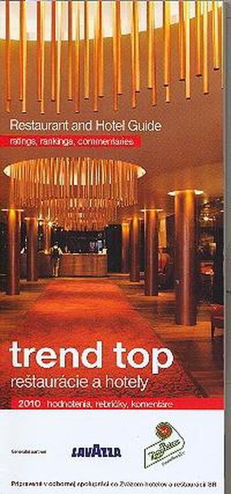 Trend top reštaurácie a hotely 2010