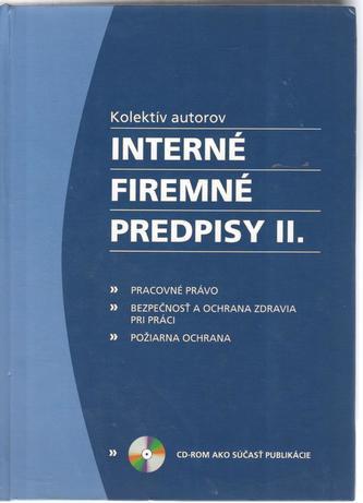 Interné firemné predpisy II.