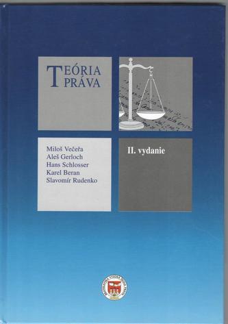 Teória práva, 2.vyd.