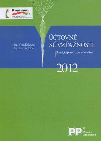 Účtovné súvzťažnosti 2012