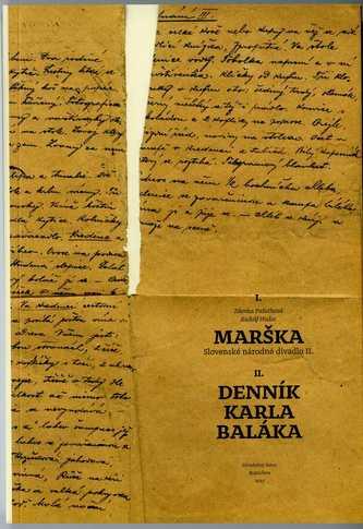 Marška – Denník Karla Baláka