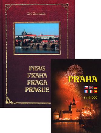 Prag Praha Praga Prague + mapa Praha 1:15 000
