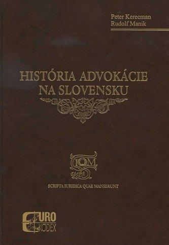 História advokácie na Slovensku