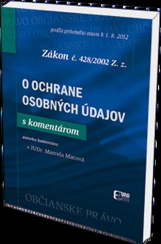 O ochrane osobných údajov zákon č. 428/2002 Z.z.