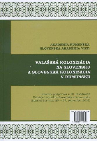 Valašská kolonizácia na Slovensku a Slovenská kolonizácia v Rumunsku